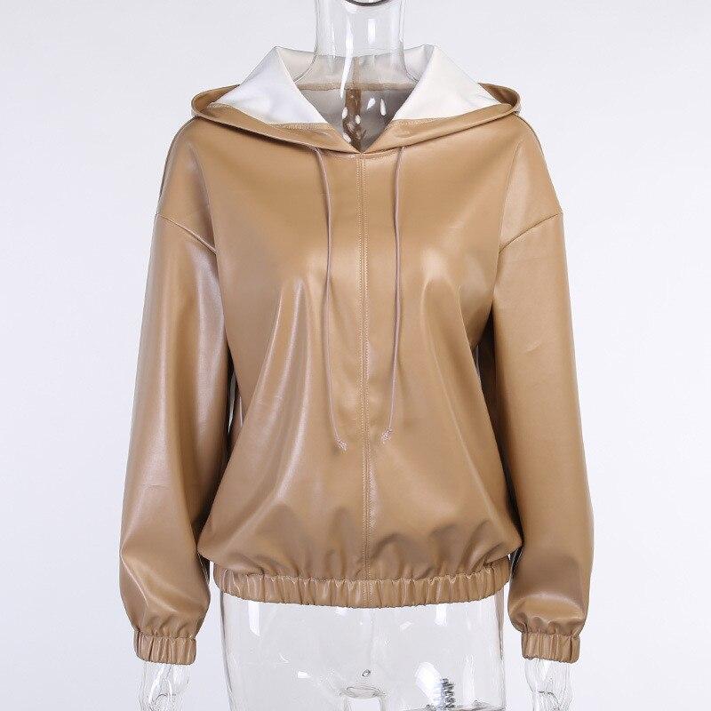pu hoodies women 02