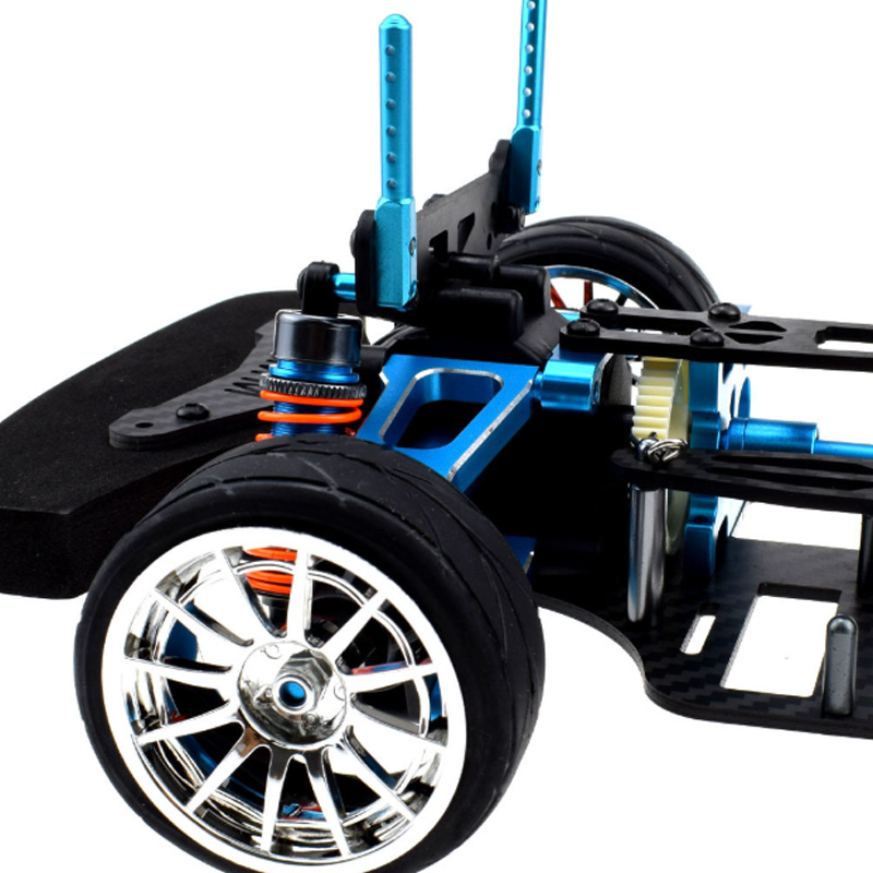 1//10 4WD Touring Car Frame Kit For TAMIYA M9H5 TT01 Alloy and Carbon Shaft Drive