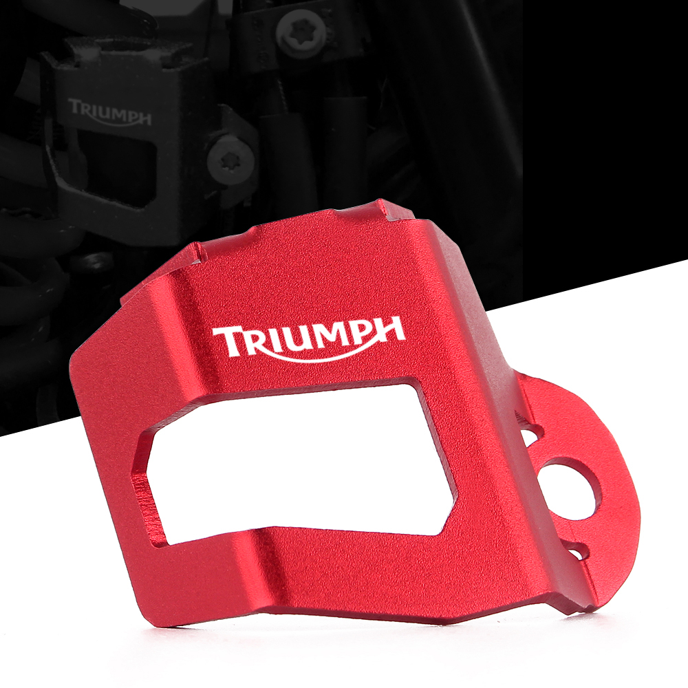 Motorcycle rear brake fluid reservoir guard cover protector For TRIUMPH TIGER 800 XR XCA TIGER 800 XRX TIGER 800 XRT 2017-2018