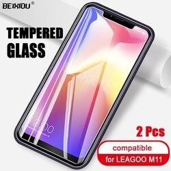 На Алиэкспресс купить стекло для смартфона 2 pcs full tempered glass for leagoo m11 screen protector 2.5d 9h tempered glass on the for leagoo m11 protective film