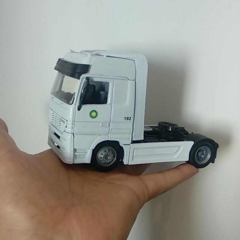Diecast 1/43 klasyczny amerykański SCANIA przyczepa do ciągnika kontener ciężarowy pojazdy samochodowe Model odlewu kolekcja samochodów zbiorowego prezenty