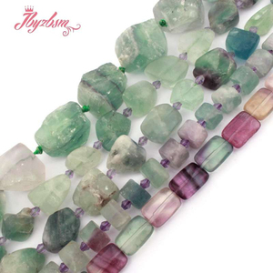 6-12mm Multicolor Fluorite Mixed Shape Loose Bead Natural Stone Beads For DIY Gift Necklace Bracelat Earring Jewelry Making 15