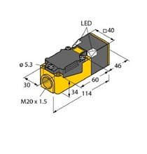 Proximity Switch Sensor Inductive Sensor NI20-CP40-FZ3X2 free shipping 100% new bi20 cp40 ap6x2 proximity switch sensor