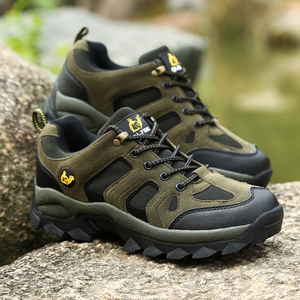 Image 3 - COOLVFATBO askeri taktik botları erkekler için deri açık havada yuvarlak ayak ayakkabı erkek rahat tırmanma yürüyüş ayakkabıları artı boyutu 36 47