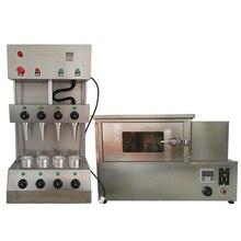 Хорошее качество контроля температуры пиццы конус формовочная машина 4 шт. пресс-формы для хлебобулочных изделий конусная машина с печь для пиццы