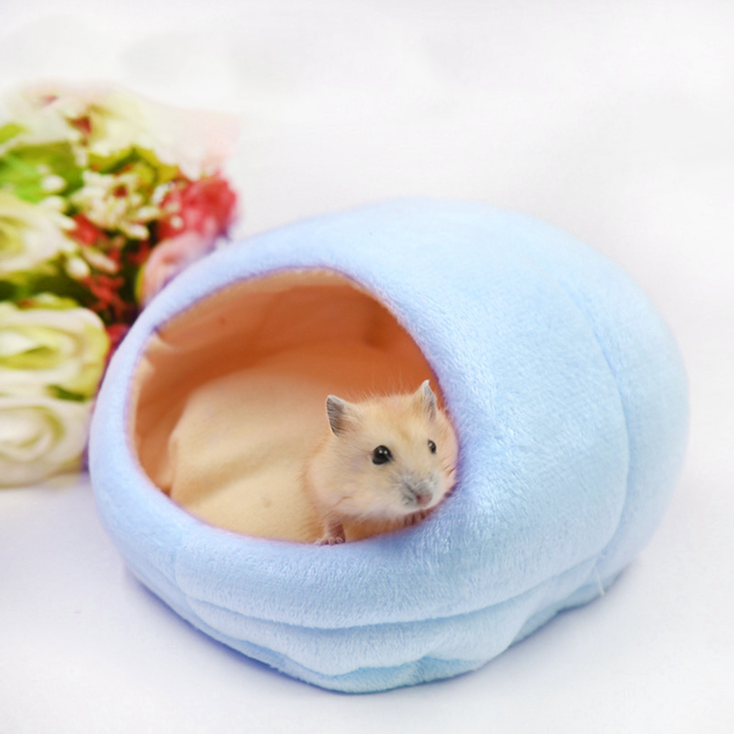 New Small Animal Hamster Bed House Winter Warm Squirrel Hedgehog Rabbit Chinchillas Mattress House Nest Hamster Accessories