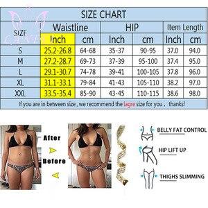 Image 4 - LANFEI Pantalones adelgazantes de neopreno para mujer, moldeador corporal térmico para el sudor, Capri, entrenador de cintura, mallas para pérdida de peso, bragas recortadoras