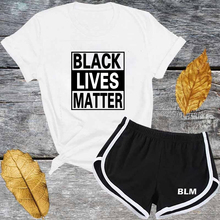 BLM Black Lives Matter Protest Custom Cheap Wholesale Crop Top And Shorts