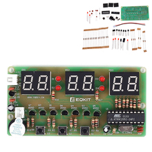 Electronic-Clock Components Digital Suite 6-Bits C51 Six Diy-Kits And