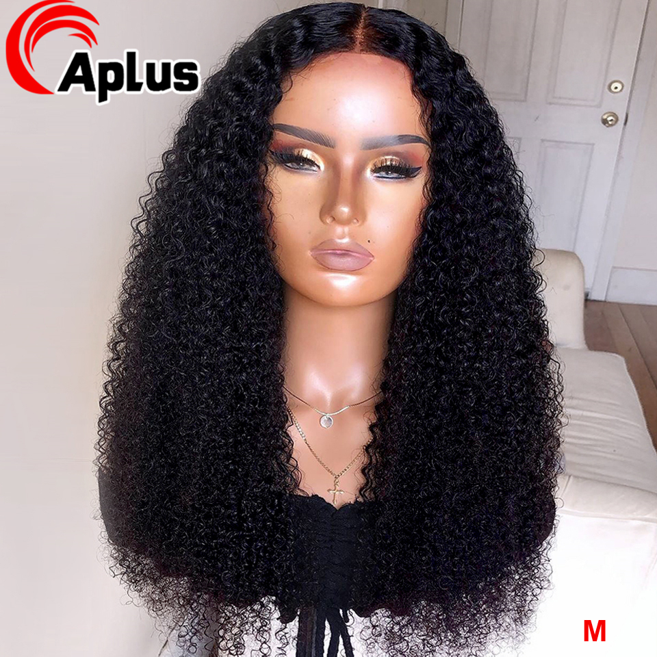 Jerry Curly Lace Front Human Hair Wigs With Baby Hair Indian Human Hair Wigs Remy 13*4 Pre-plucked Human Hair Wig 150% Density