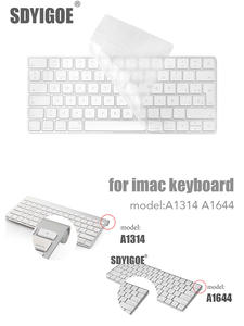 PC Protector Cover IMAC Desktop Apple Bluetooth A1314 Silicone Keybord Mla22ll/a1644