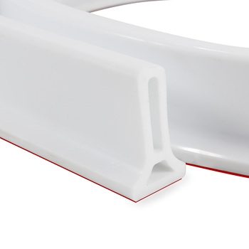 Collapsible Water Dam Shower Barrier and Retention System Water Stopper Self-Adhesive Silicone Bath Kitchen Dam Shower Threshold
