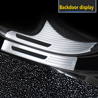 2019 Stainless Steel Welcome Pedal Decoration Fittings for Subaru forester Threshold