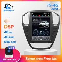 4G Lte 64G ROM dikey ekran android araba gps multimedya video radyo çalar dash opel insignia için araba navigasyon stereo