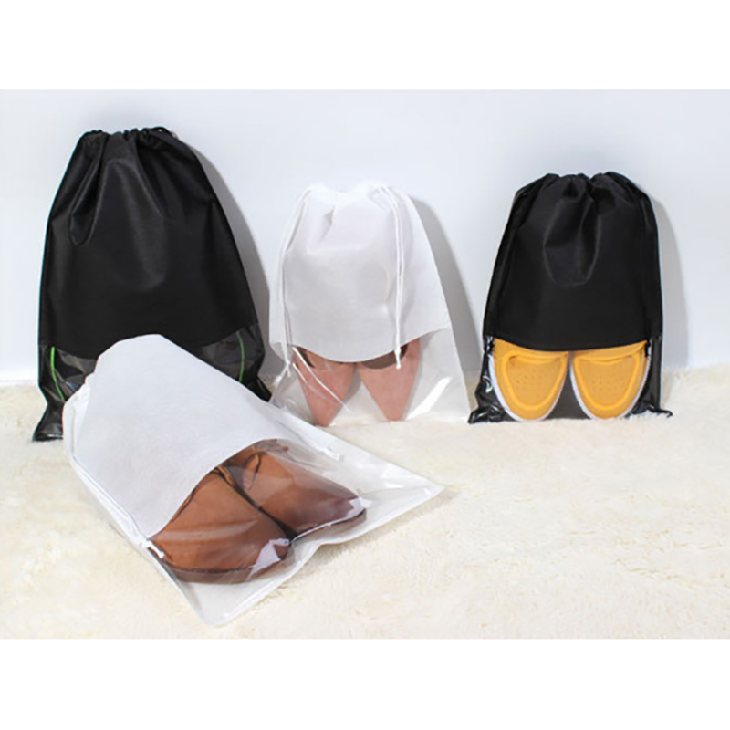 1PC Travel Storage Waterproof Shoes Bag Organizer Drawstring Bag Laundry