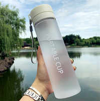 600/800ML BPA Free Leak Proof Water bottle Portable Sports Climbing Hiking Direct Drinking Bottle