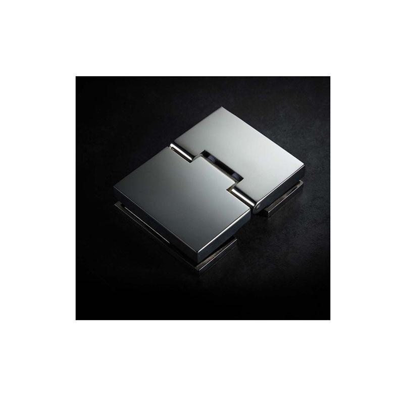 Light luxury diamond shape single door push pull shower room overall toile-1