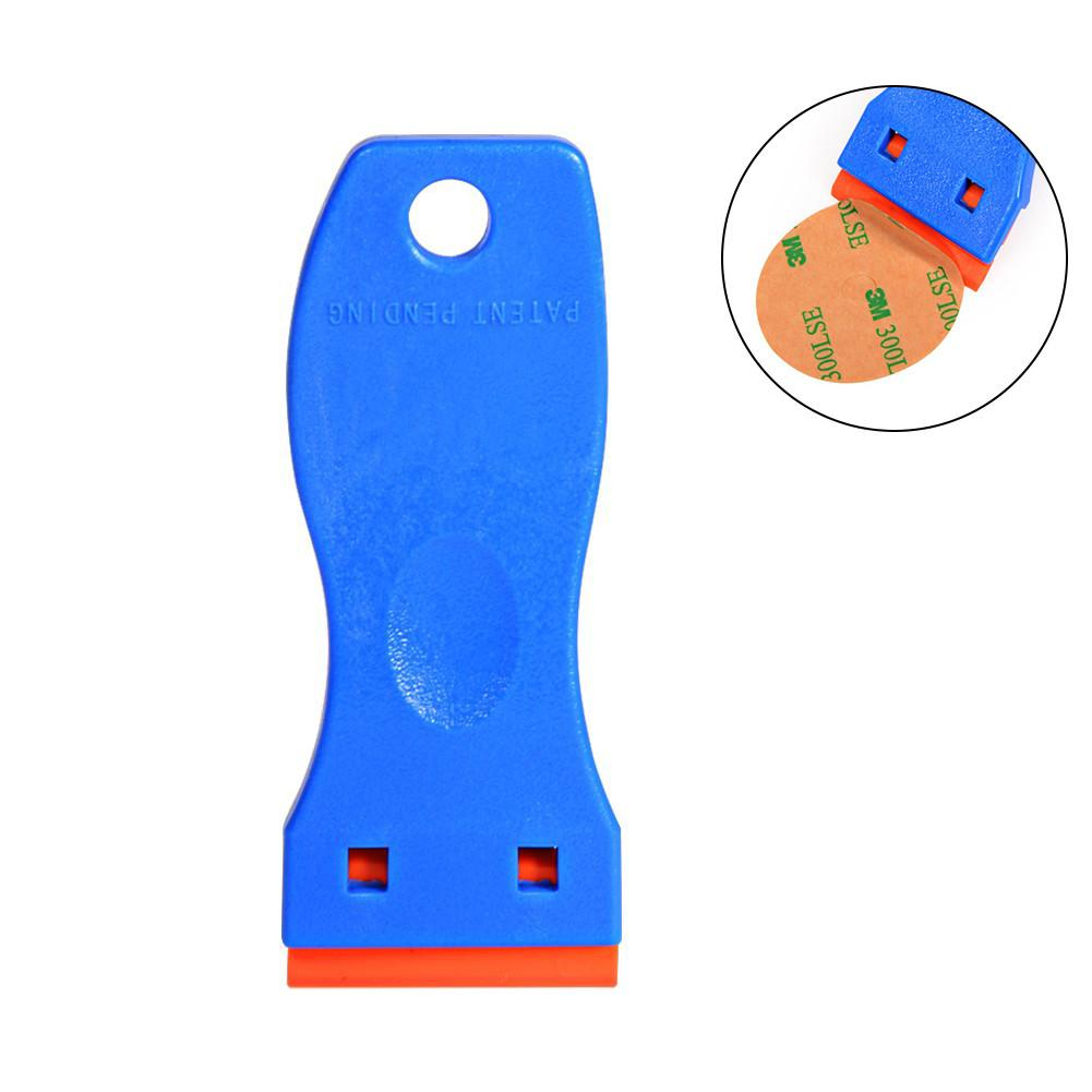 Portable Plastic Negative Angle Scraper With Shovel Glue Blade Remove Residual