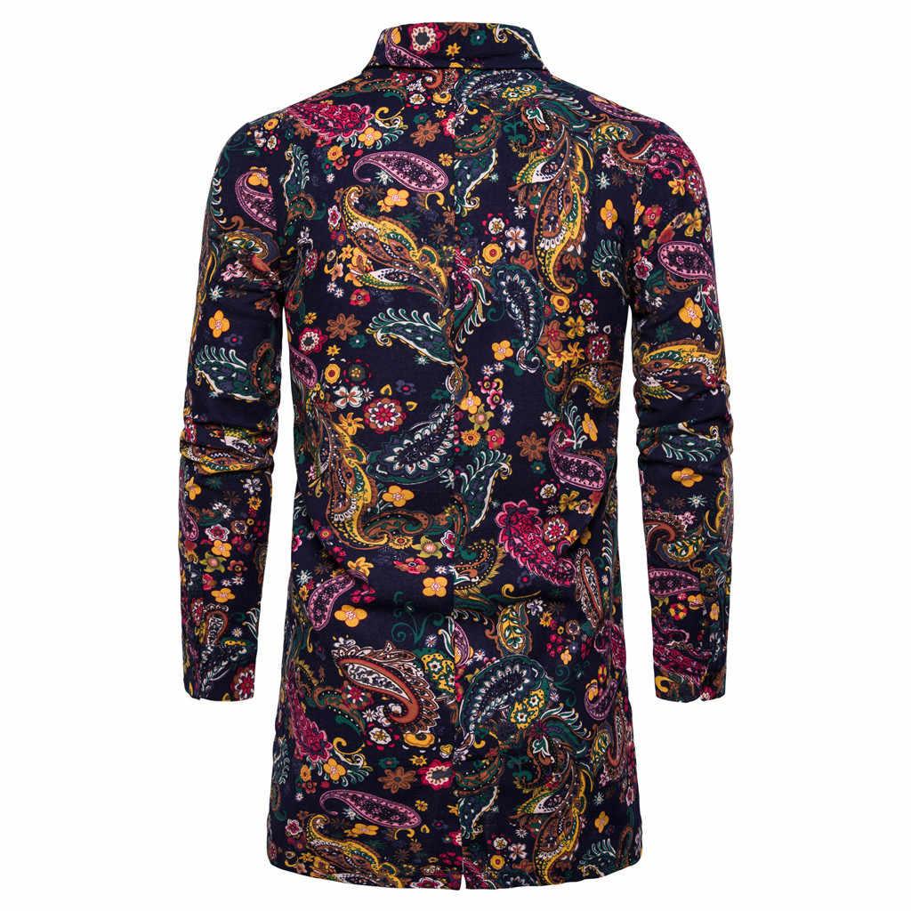 KANCOOLD 2019 ใหม่ฤดูใบไม้ผลิฤดูร้อน Mens แฟชั่นเสื้อแจ็คเก็ตผู้ชายผู้ชายบางเสื้อกันหนาวผู้ชาย outwear coat พิมพ์เสื้อ top