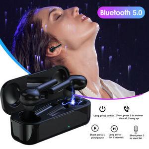 Image 1 - אלחוטי Bluetooth 5.0 אוזניות TW08 TWS מיני אוזניות אוזניות