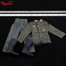 1/6 1:6 масштаб DIY DML солдат фигурки одежда Второй мировой войны M43 Униформа боевые брюки костюм немецкие трубы сапоги набор подходит 12 дюймов тела