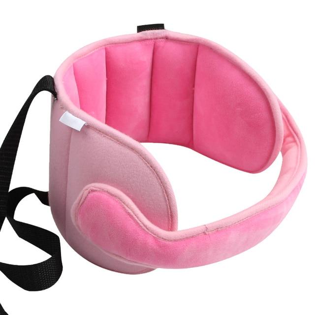 Beb ni os asiento de coche ajustable cabeza de soporte almohada de dormir fija protecci n