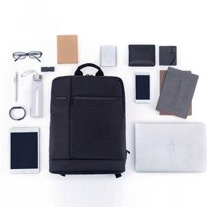 Image 5 - Xiaomi Mi plecak klasyczny biznes plecaki miejskich 17L pojemności studentów torba na Laptop mężczyzna kobiet torby na 15 cal laptopa