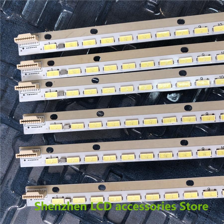 """2Pieces/lot  LED Strip For 42"""" V13 Edge REV0.8 6920L-0001C 6922L-0051A 6916L1269A 54LEDS 535MM 100%NEW"""