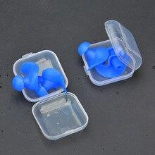 ซิลิโคนป้องกันหูปลั๊กอุดหูสำหรับSleepingโฟมปลั๊กป้องกันเสียงรบกวนป้องกันหูลดเสียงรบกวน