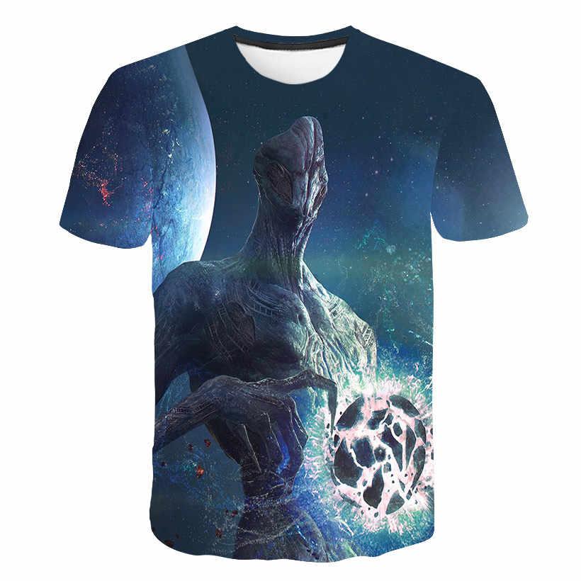 男の子漫画ベビー Groot プリント Tシャツ女の子カジュアル 3D おかしい Tシャツ子供の夏の半袖服子供 Tシャツトップス
