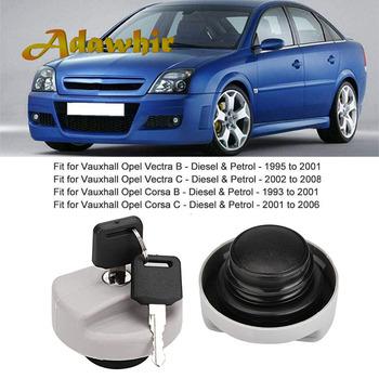 Filler Fuel Tank Cover Gas Cap for Vauxhall Opel Zafira Tigra Combo Omega Signum 2001 2002 2003 #8211 2005 1702834 Car Accessories tanie i dobre opinie adawhir Plastic+Rubber 0 15kg 1702834 93224461 Iso9000 10609 108I7106 For Vauxhall Opel for MG ZR Rover 25 Hathback (RF)