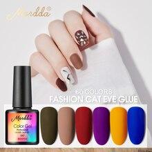 MORDDA 8ML Gel de esmalte de uñas Gel LED UV barniz para dedo diseño laca de Gel para remojo de larga duración Gel pintura herramientas de manicura de uñas