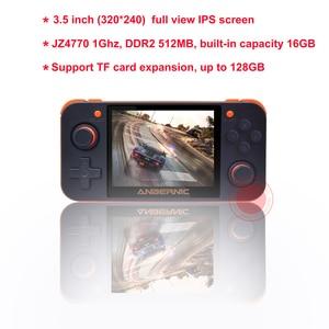 Image 5 - ANBERNIC RG350 IPS Retro Games 350 Video games Upgrade game console 64bit opendingux HDMI TV 2500+ games RG350 PS1 Emulators 16G