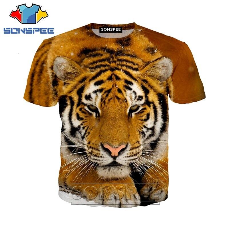 Anime 3d Print T Shirt Streetwear Hip Hop Animal Tiger Children Men Women Fashion T-shirt Harajuku Kids Shirts Homme Tshirt A299