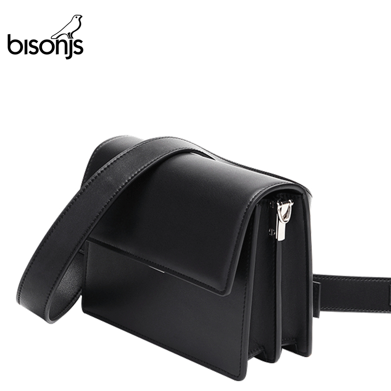 BISONJS Female Shoulder Bags Fashion Leather Ladies Handbags Designer New Luxury Women Corssbody Bags For Party B1590
