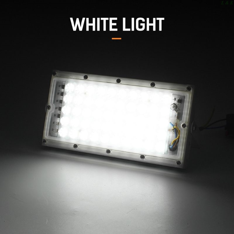 Floodlight Outdoor Spotlight 50W Wall Washer Garden Lamp Reflector IP65 12V PXPC