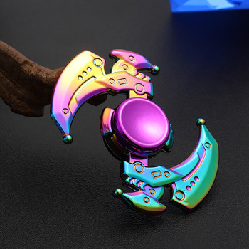 Fidget Zinc Alloy Hand Spinner EDC Fidget Hand Spinners Autism ADHD Kids Gifts Finger Toys Spinners Focus Relieves Stress Adhd E led light finger spinner aluminum edc hand spinner for autism and adhd anxiety stress relief focus toys gift m2