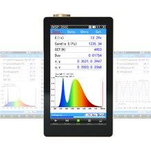 Hopoocolor OHSP350C Handheld Spectrometer Luminaires Tester CCT CRI Lux Meter
