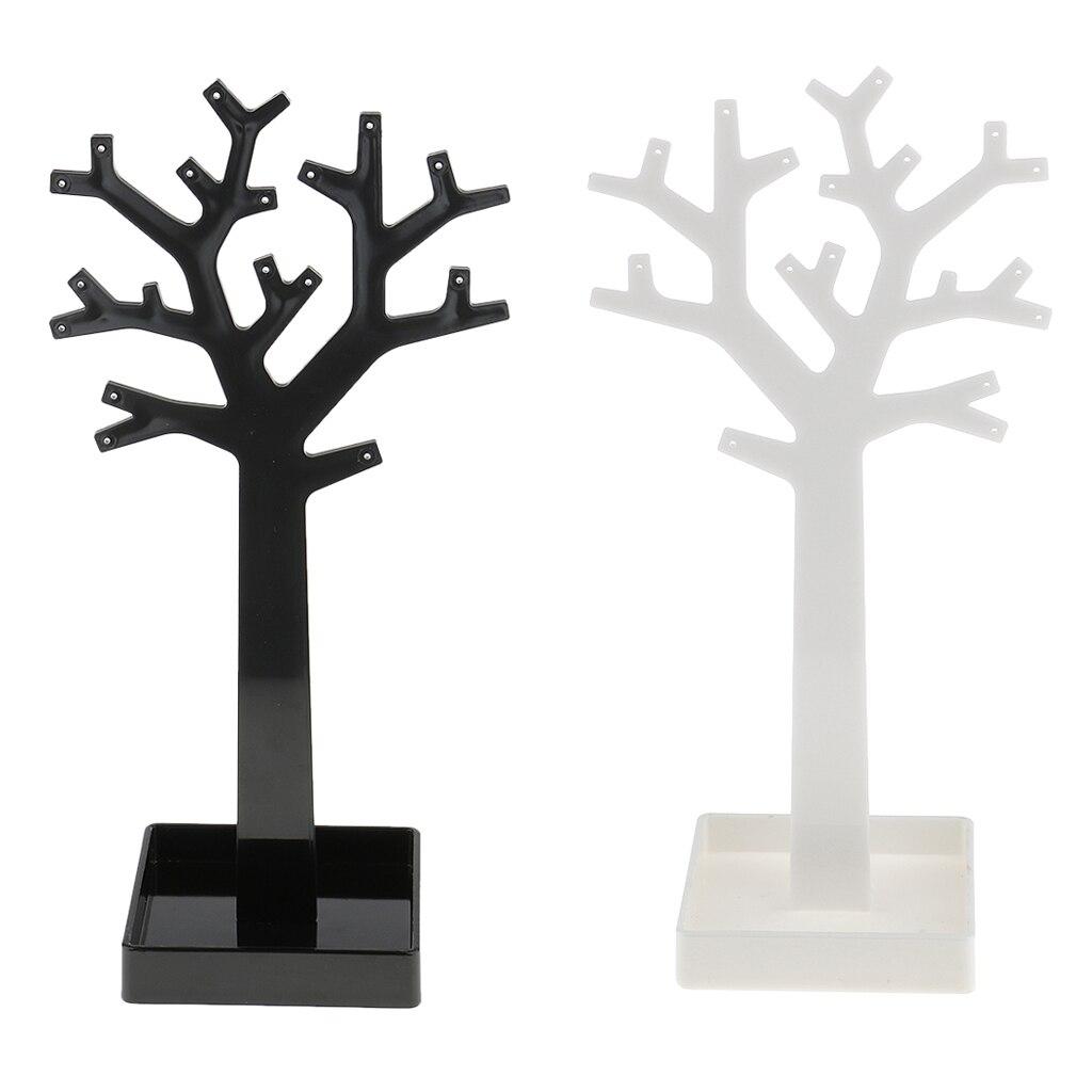 Earrings Ring Jewellery Tree Organizer Hanging Storage Holder Display Stand