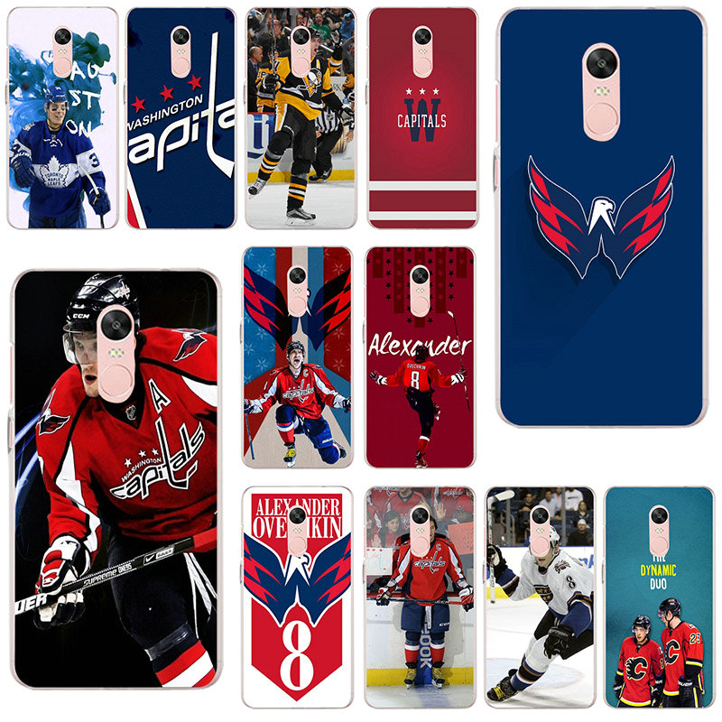 Alexander Ovechkin Hockey Soft TPU Silicon Cell Phone Cases Cover for Xiaomi Redmi Mi Note 4X 2 3 3S 4A 5 6 5S 5X 5A 6X Pro Plus(China)