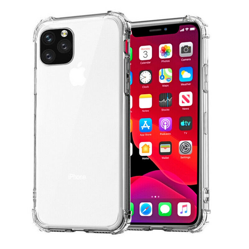 Image 5 - Rsionch Soft TPU Case for iPhone 11 Pro Max 11 Pro Transparent Silica Phone Case on iPhone 11 Pro 6s 7 8 Plus 5 Clean Back Cover-in Fitted Cases from Cellphones & Telecommunications