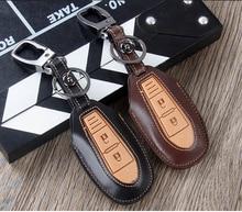 Smart Car Key Case Keychain, for Suzuki Snapway Fengyu Qiyue Vitra Leather Remote Control Protected