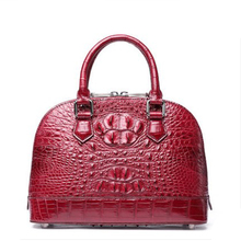 ouluoer Thailand  Crocodile skin shell bag lady hand carry one shoulder fashionable European and American light luxury