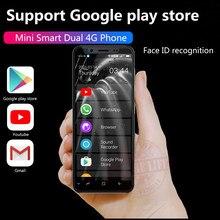 2021 Anica K-TOUCH S11S çift 4G küçük 64G ROM Mini Ultra ince 4.8 ekran yüz kimliği iki SIM bekleme Android 8.1