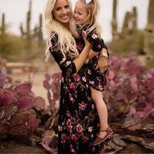 С длинными рукавами; Одежда для матери и дочери; всей семьи