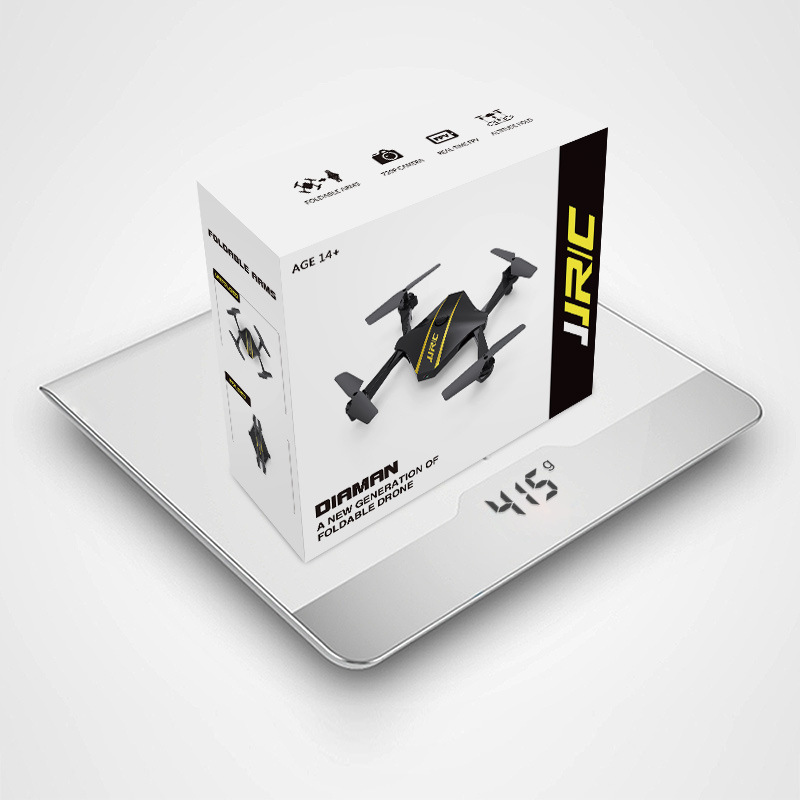 Jjrc Indoor Unmanned Aerial Vehicle Aircraft For Areal Photography Rhombus Folding Four-axis Remote Control Aircraft High Camera