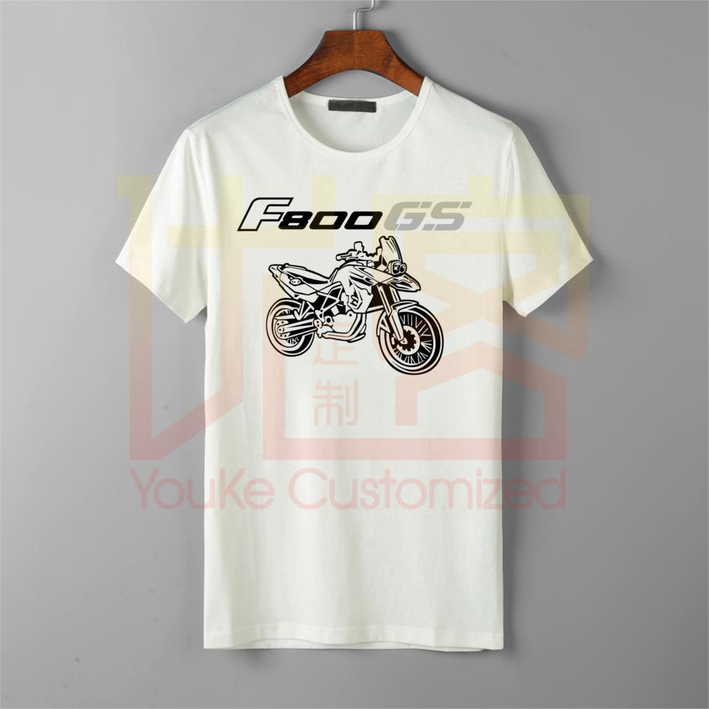 Men'S T-Shirt 2018 Newest 100% Cotton Brand New T-Shirts Moto Classic German Motorcycle Fans F 800 F800 <font><b>Gs</b></font> Tee <font><b>Tshirt</b></font> Homme image