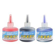 Whiteboard-Marker-Pen Refill-Ink Office-Supplies Inks 1-Bottle Black School 50ml