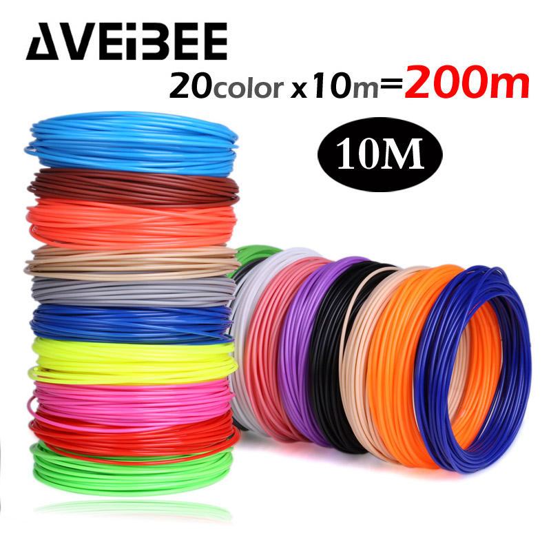 Perfect 3d Pen Special Abs Filament Pla 1.75mm Pla Filament 3d Printer Abs 3d Pen Pla Plastic 20 Colors Abs 1.75 No Pollution