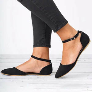 DIHOPE Flat-Loafers Sandals Leather Shoes Ballet-Flats Slip On Comfort Woman Summer Square